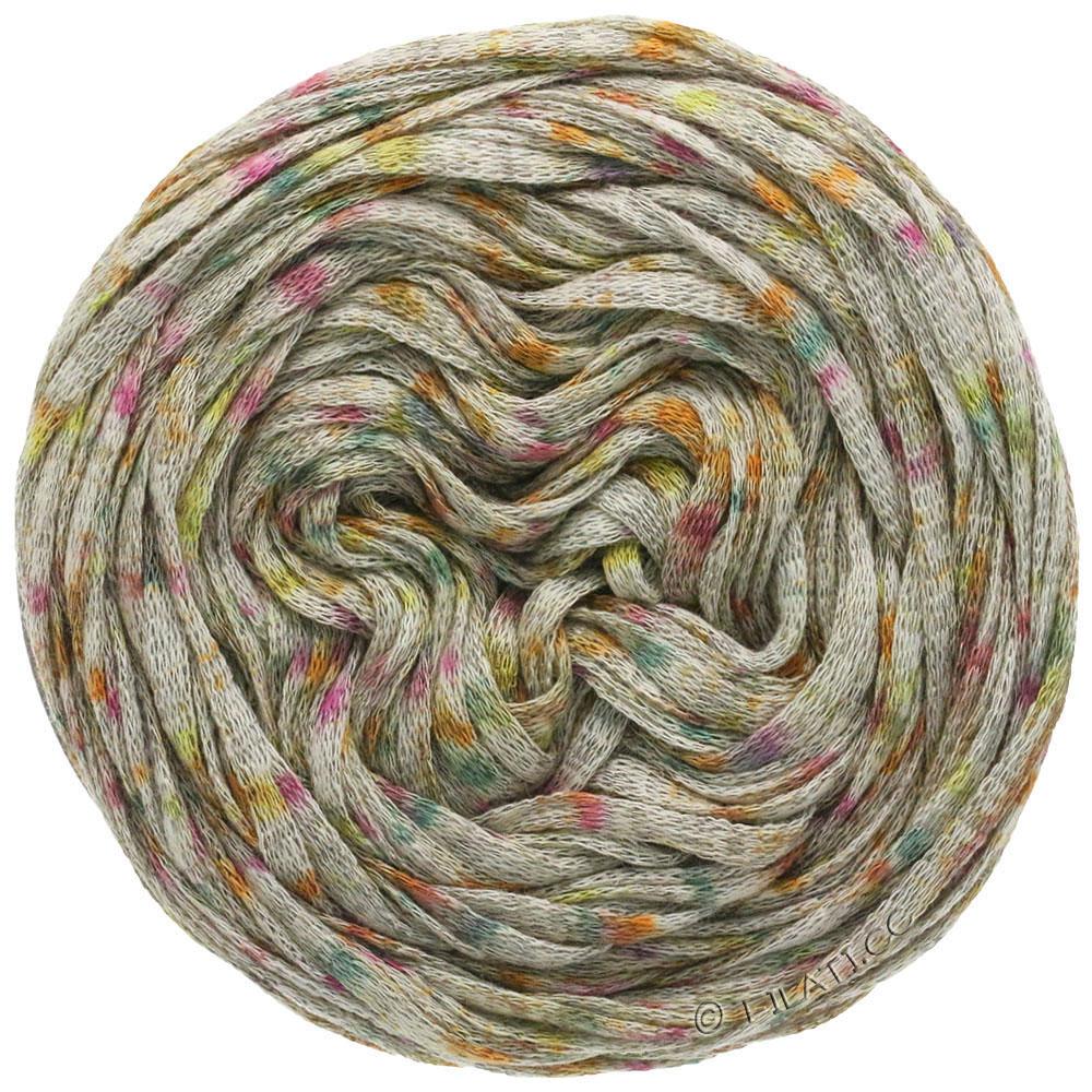 Fb 9 grau//grün//zyklam 50 g Wolle Kreativ About Berlin Sparkly Lana Grossa
