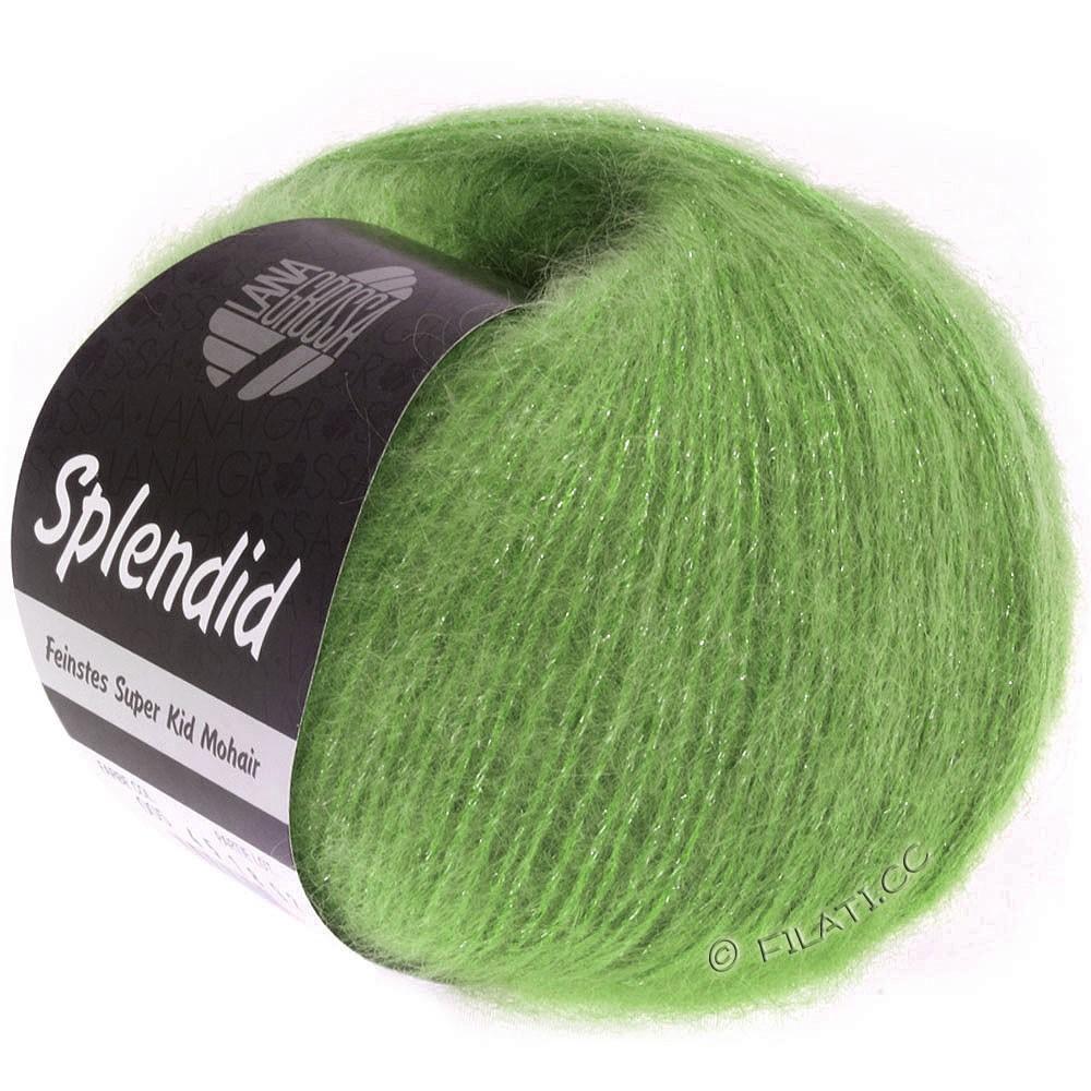 Lana Grossa SPLENDID | 21-green/silver