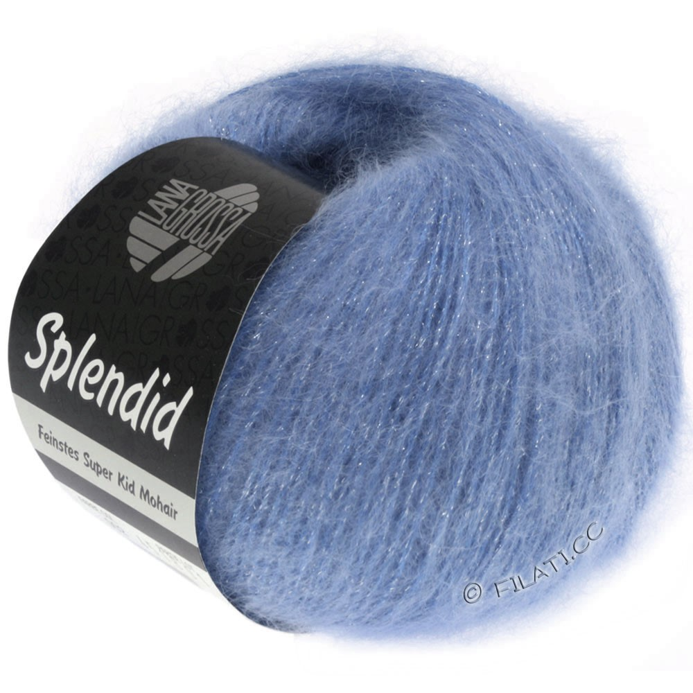 Lana Grossa SPLENDID | 23-blue/silver