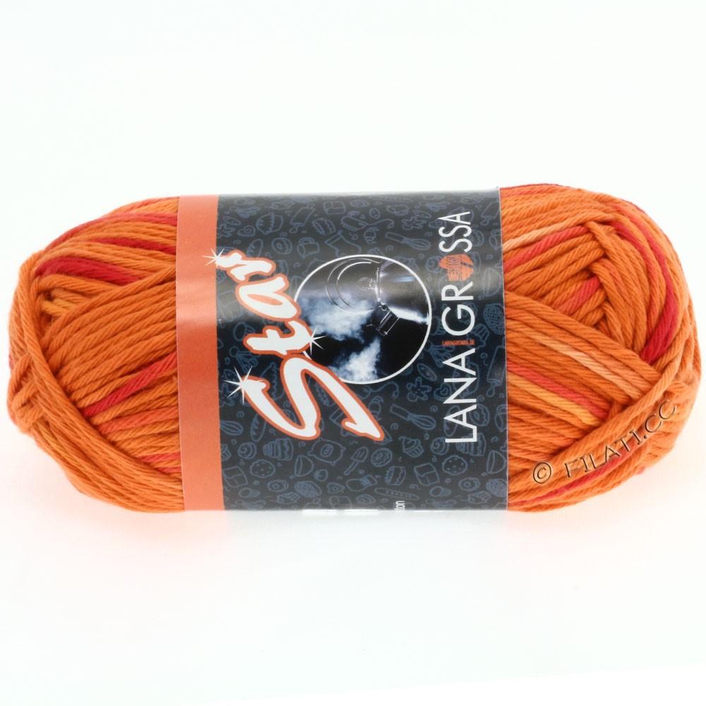 Lana Grossa STAR Print | 605-mandarine/salmon/lilac/sand