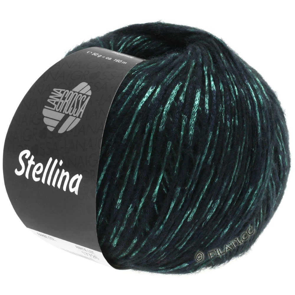 Lana Grossa STELLINA | 13-black/green