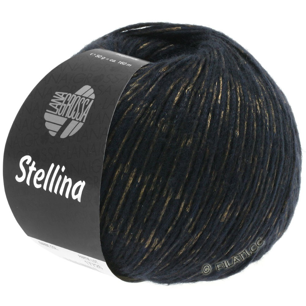 Lana Grossa STELLINA | 14-black/copper