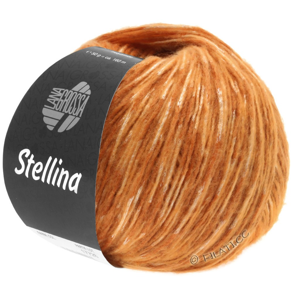 Lana Grossa STELLINA | 17-cognac/orange