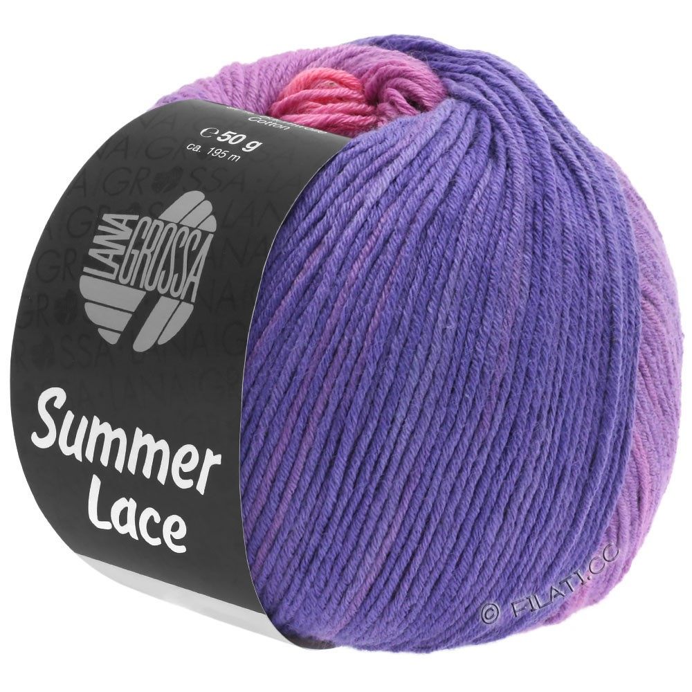 Lana Grossa SUMMER LACE DEGRADÉ | 102-pink/lilac/blue violet