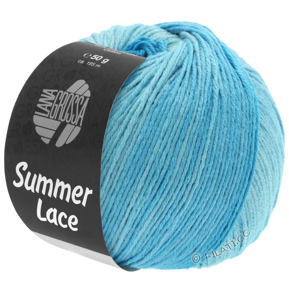 Lana Grossa SUMMER LACE DEGRADÉ | 103-mint/light turquoise/turquoise