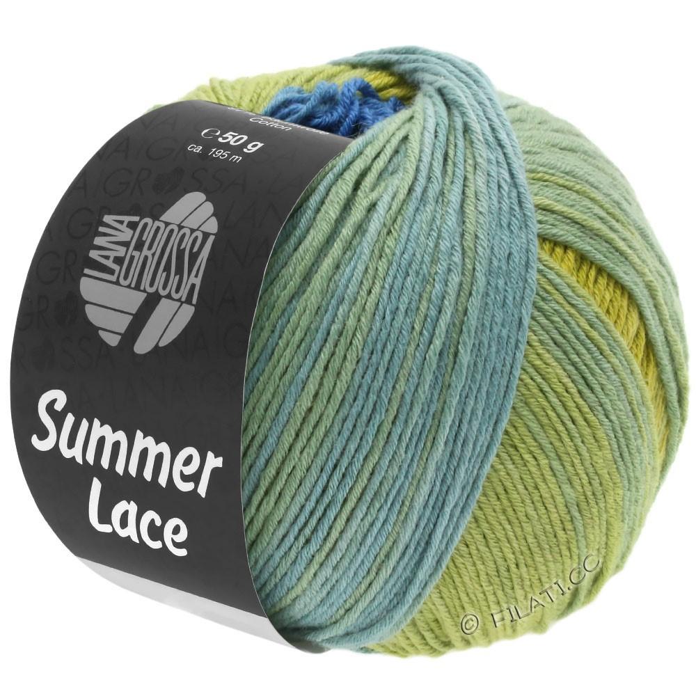 Lana Grossa SUMMER LACE DEGRADÉ | 104-yellow/blue/jade green