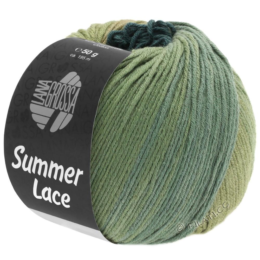Lana Grossa SUMMER LACE DEGRADÉ | 107-reed/khaki/gray green