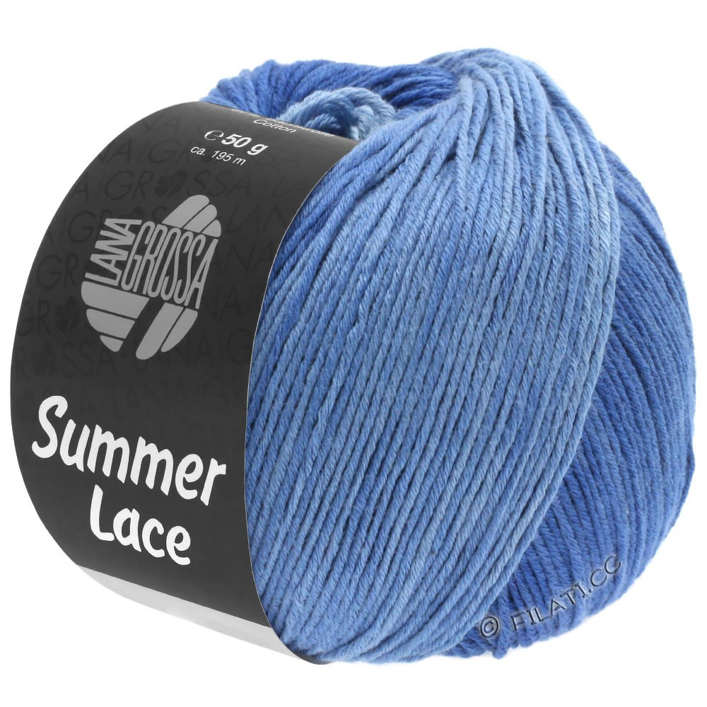 Lana Grossa SUMMER LACE DEGRADÉ | 108-light blue/blue/dark blue
