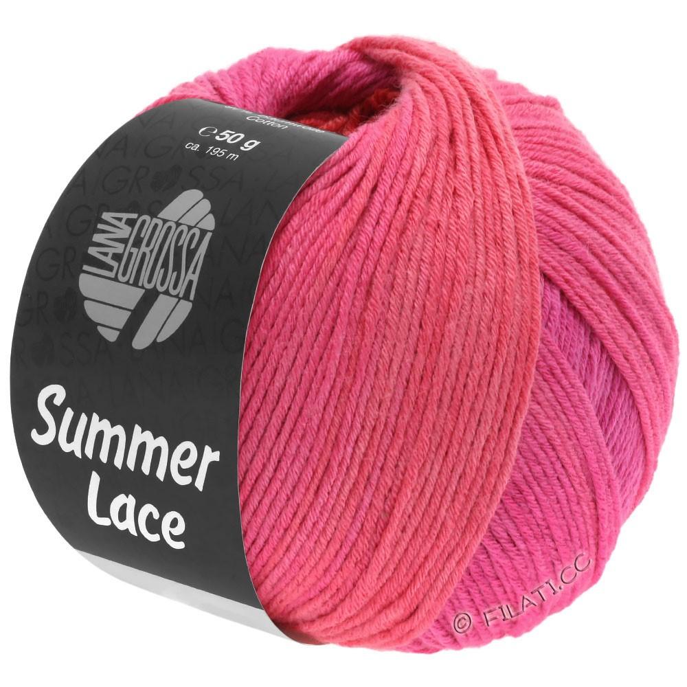 Lana Grossa SUMMER LACE DEGRADÉ | 111-cyclamen/pink/red