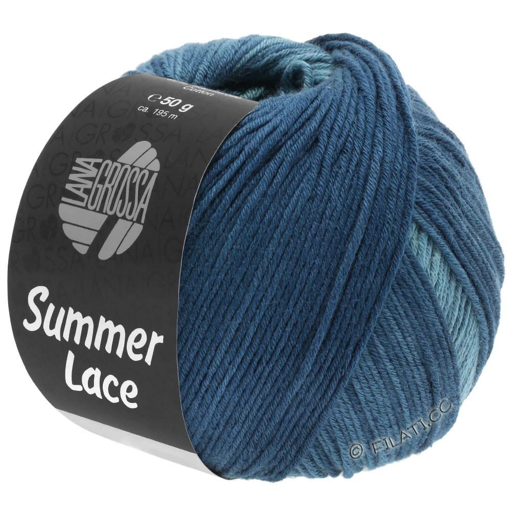 Lana Grossa SUMMER LACE DEGRADÉ | 114-petrol green/gray blue/dark petrol