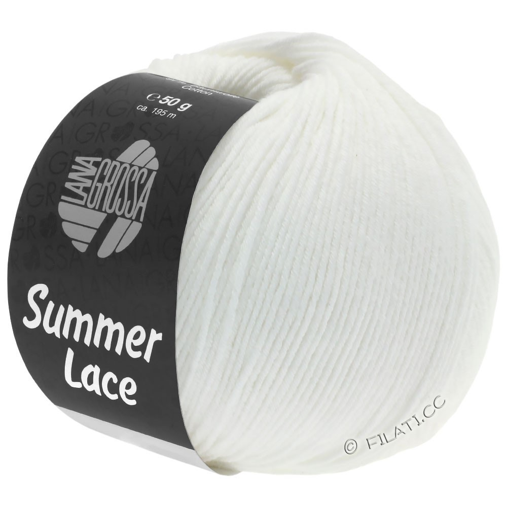 Lana Grossa SUMMER LACE | 01-white