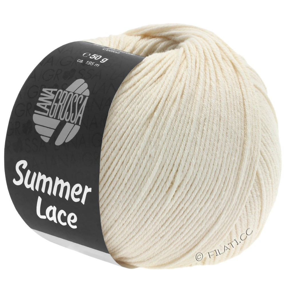 Lana Grossa SUMMER LACE | 02-cream