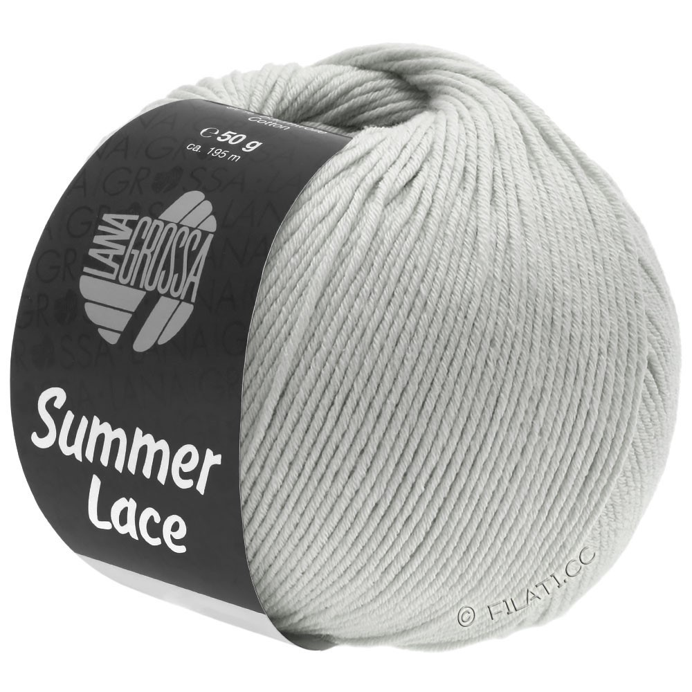 Lana Grossa SUMMER LACE | 07-pale gray
