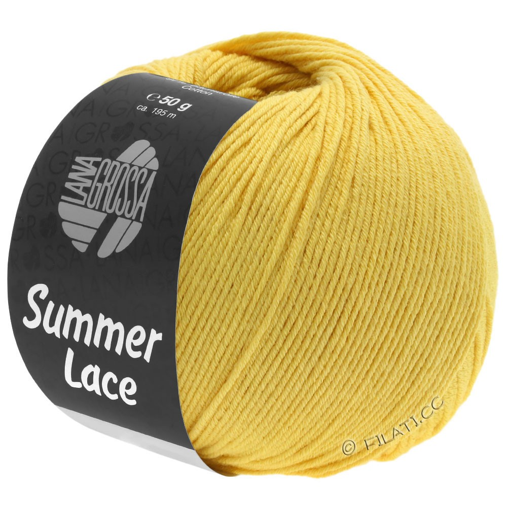 Lana Grossa SUMMER LACE | 09-yellow