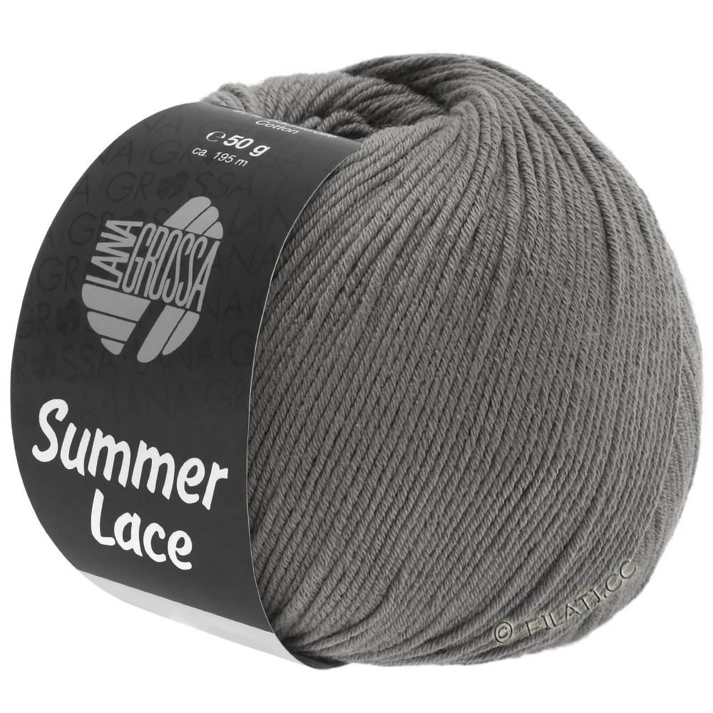 Lana Grossa SUMMER LACE | 19-dark gray