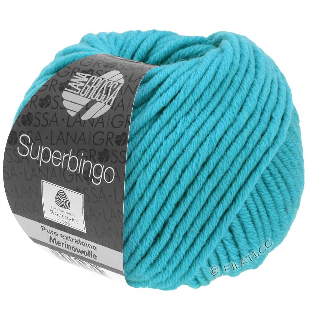 Lana Grossa SUPERBINGO uni/neon   002-turquoise