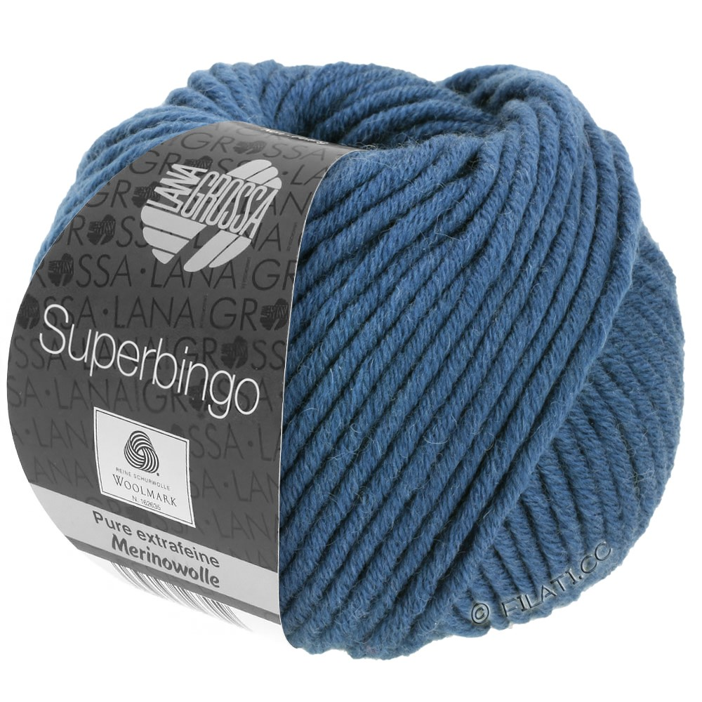Lana Grossa SUPERBINGO uni | 007 -petrol blue