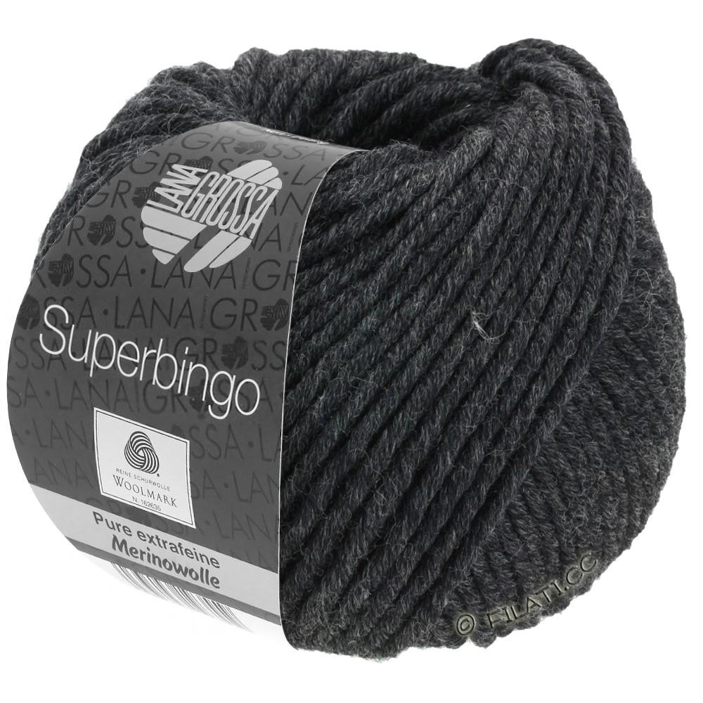 Lana Grossa SUPERBINGO Uni | 015-anthracite