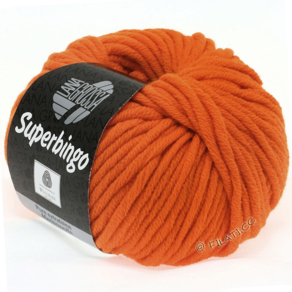 Lana Grossa SUPERBINGO Neon | 017-orange