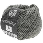 Lana Grossa SUPERBINGO uni/neon | 025-dark gray