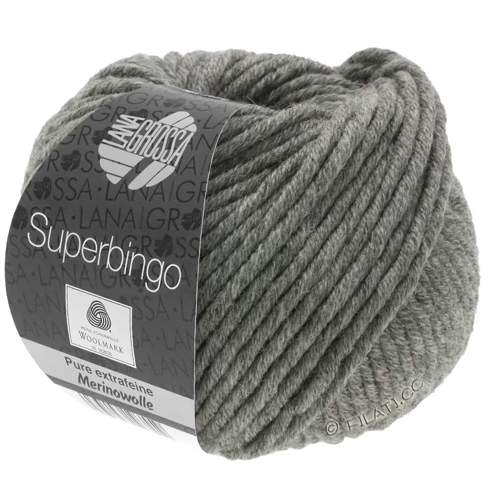 Lana Grossa SUPERBINGO | 025-dark gray mottled