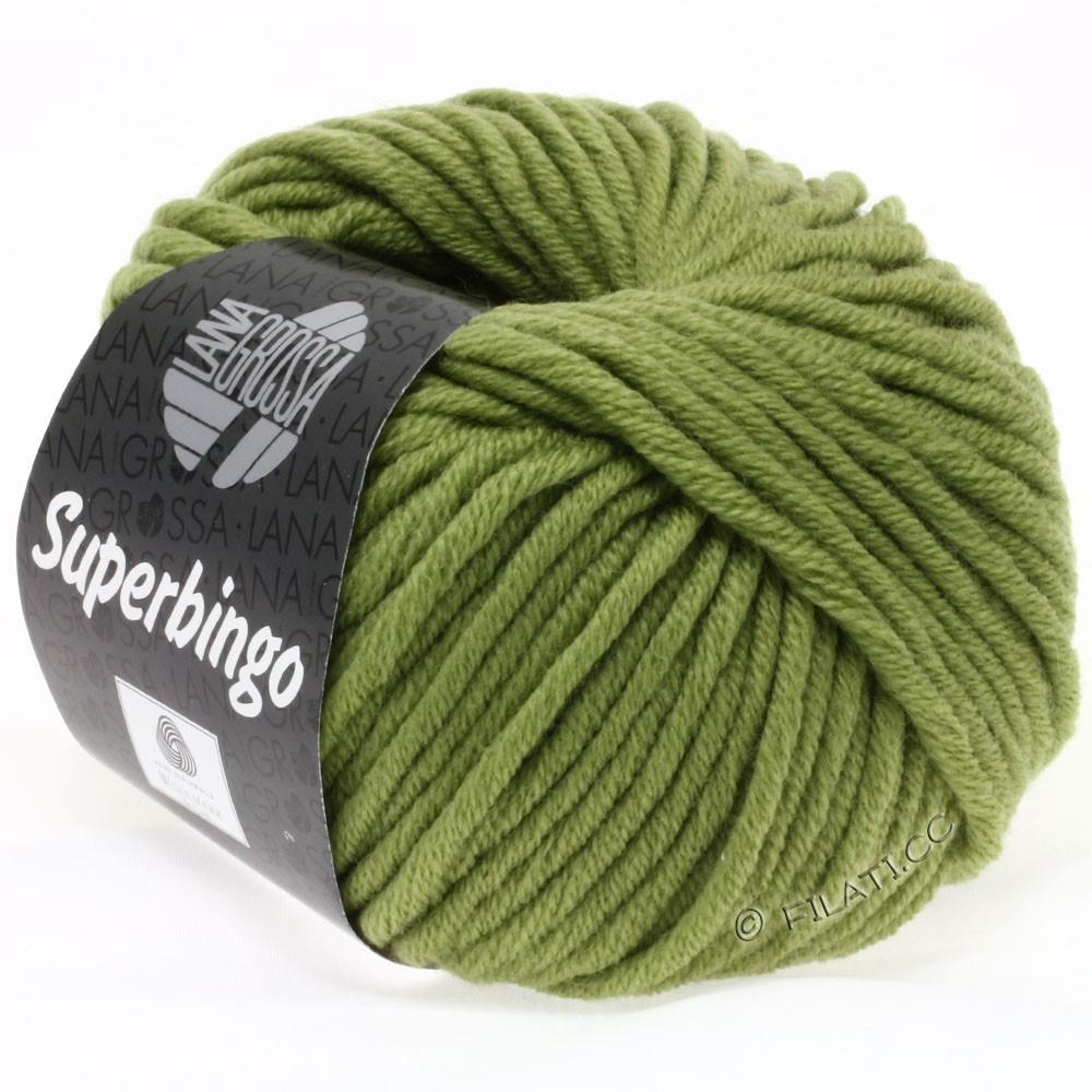 Lana Grossa SUPERBINGO uni/neon   029-olive green