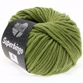 Lana Grossa SUPERBINGO uni/neon | 029-olive green