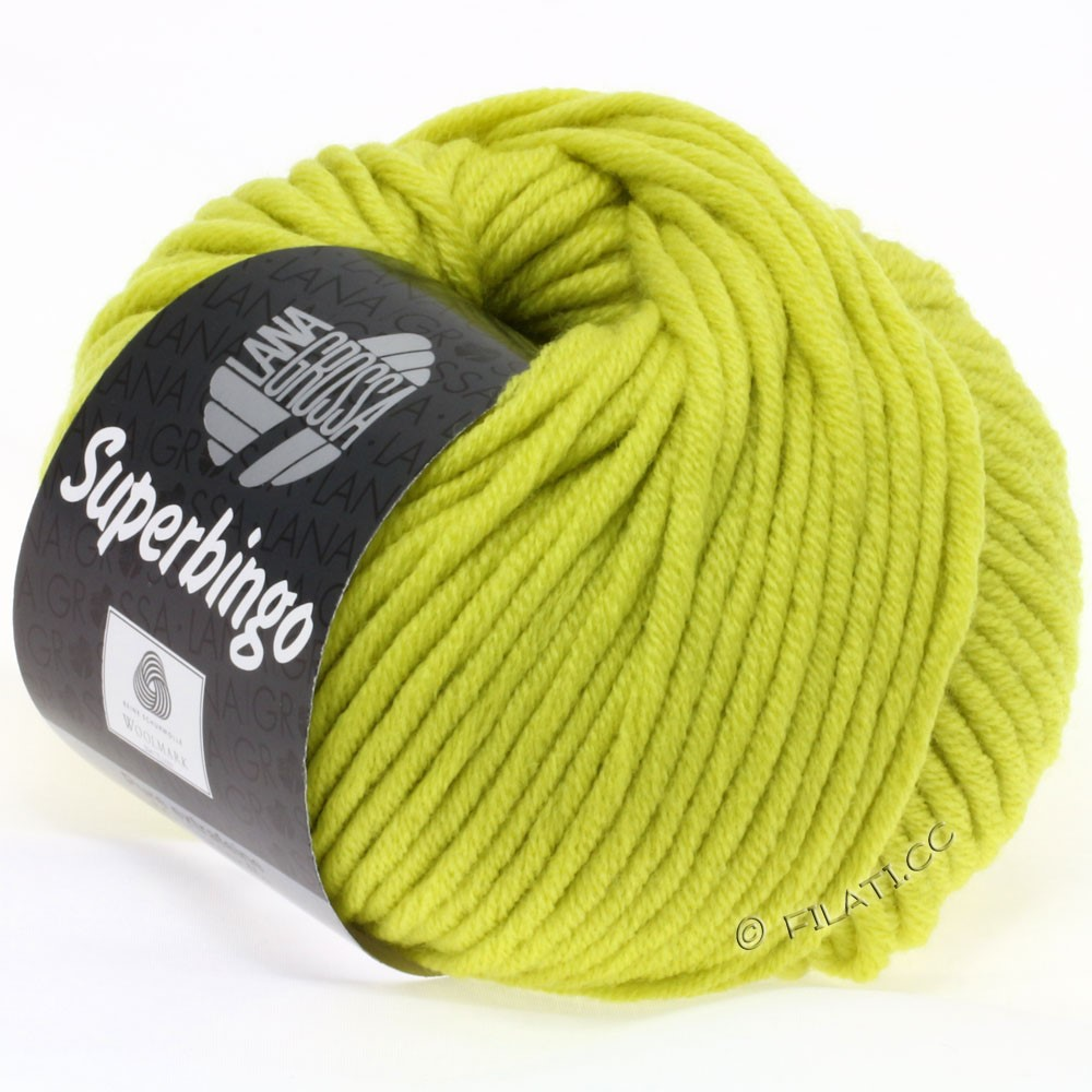 Lana Grossa SUPERBINGO uni | 030-yellow green