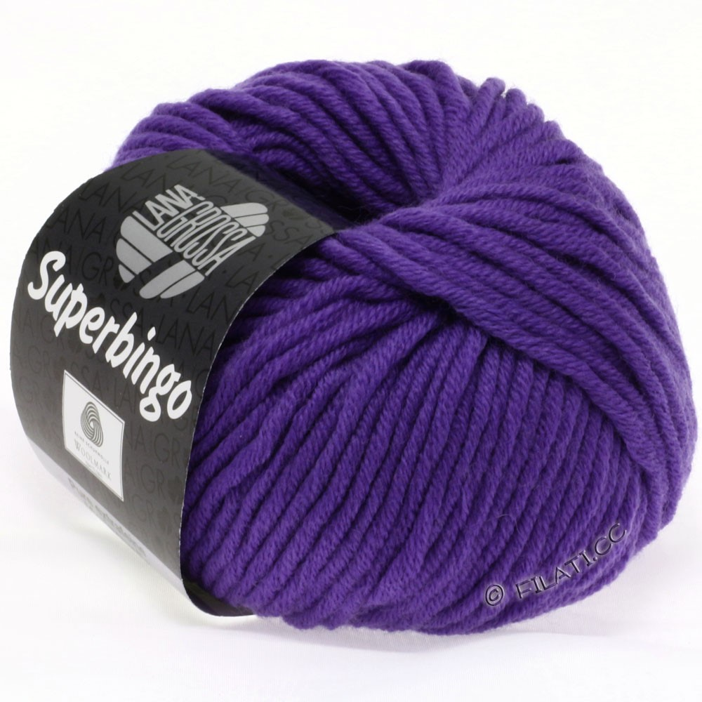 Lana Grossa SUPERBINGO uni/neon   031-blue violet