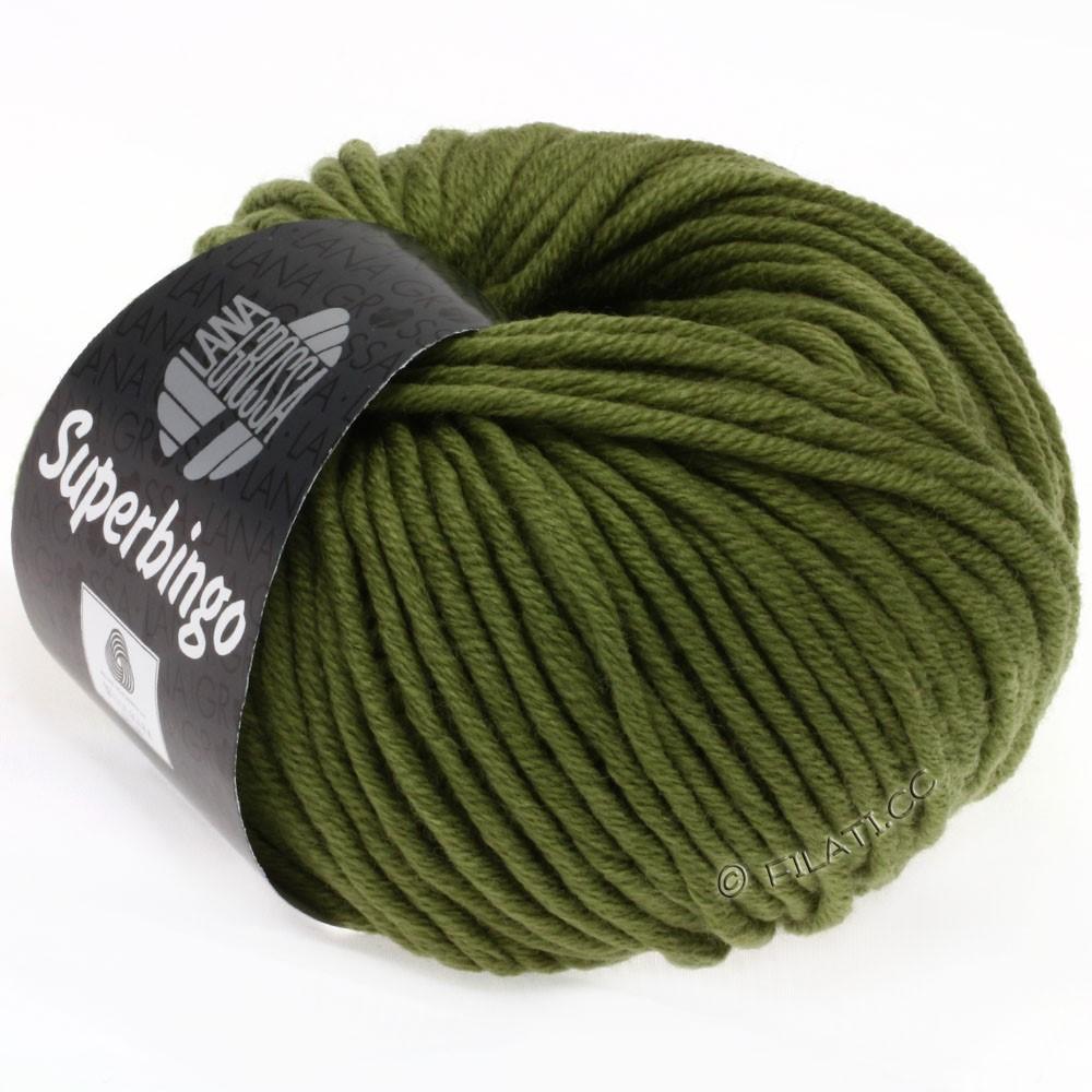 Lana Grossa SUPERBINGO uni/neon   034-olive