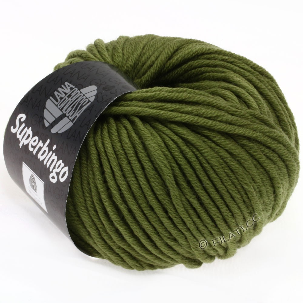 Lana Grossa SUPERBINGO Neon | 034-olive