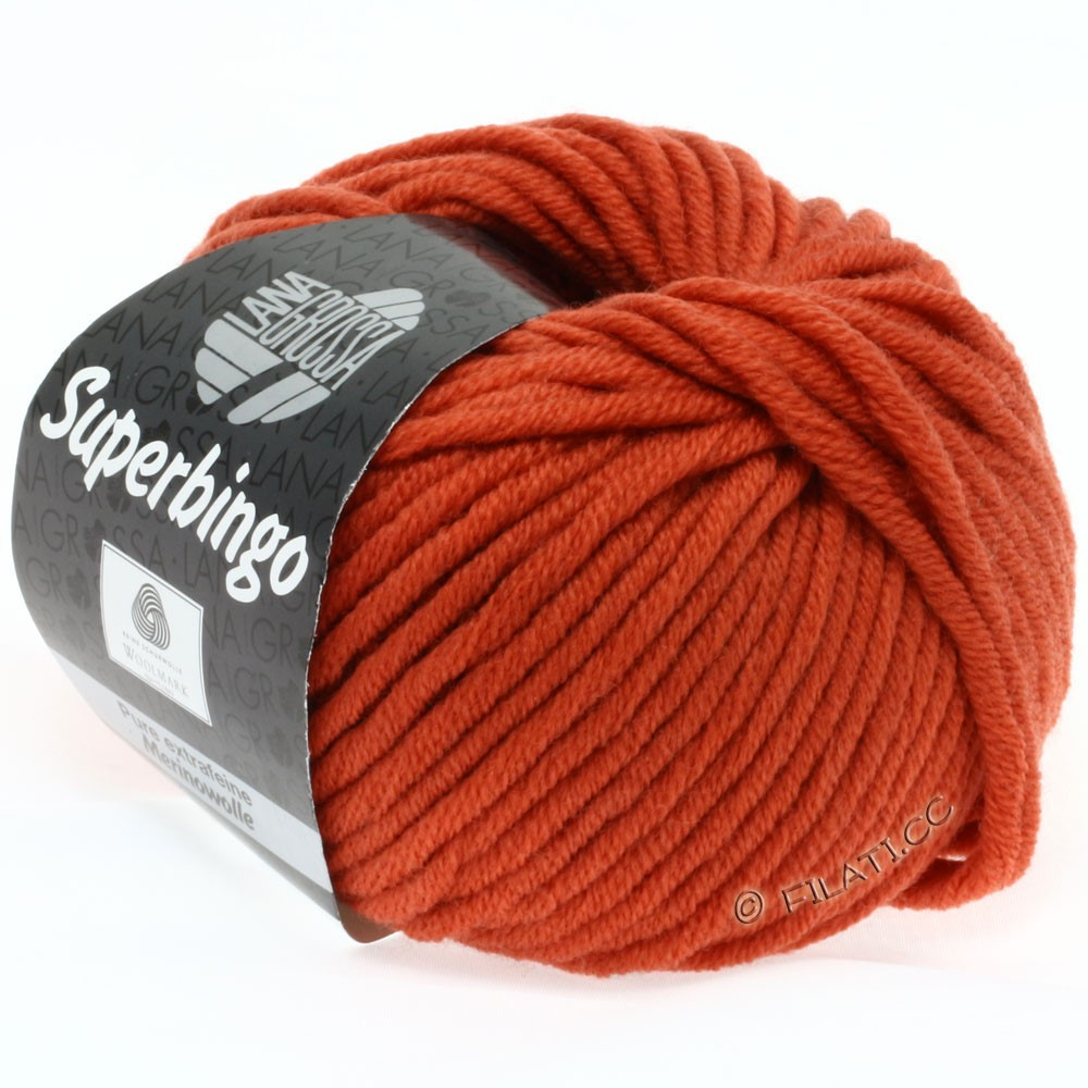 Lana Grossa SUPERBINGO Neon | 036-kopper red