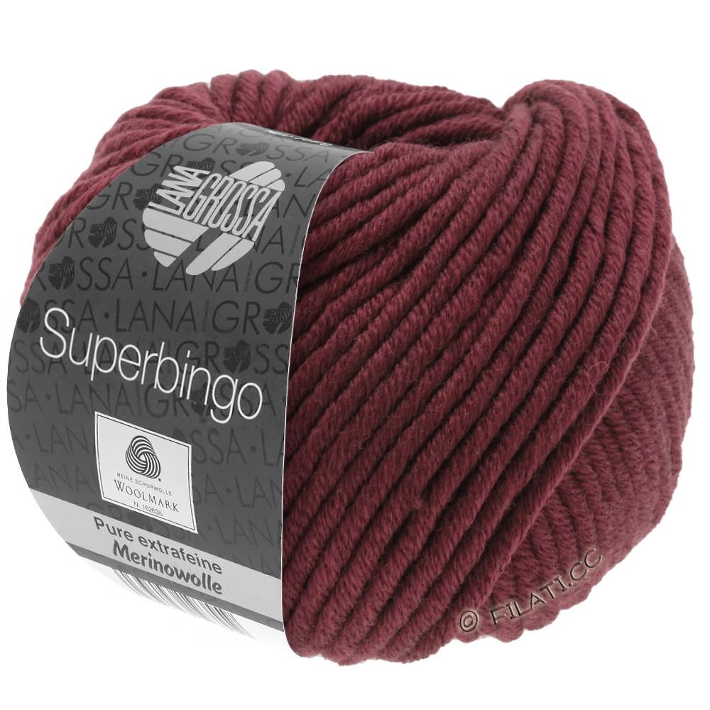 Lana Grossa SUPERBINGO uni/neon   038-burgundy