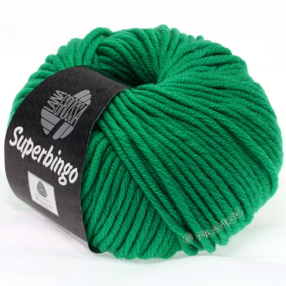 Lana Grossa SUPERBINGO uni/neon   040-emerald