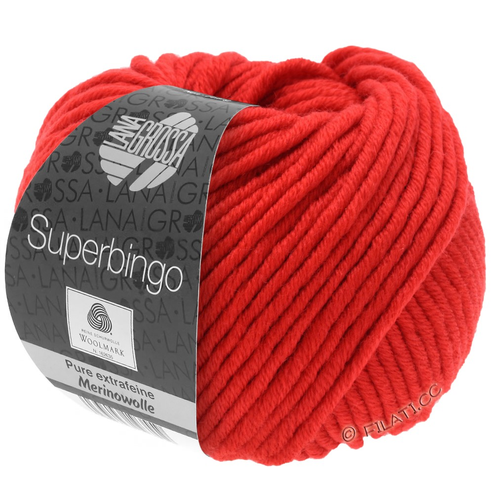 Lana Grossa SUPERBINGO uni/neon | 042-beet red