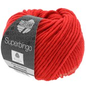 Lana Grossa SUPERBINGO uni/neon | 042-bright red