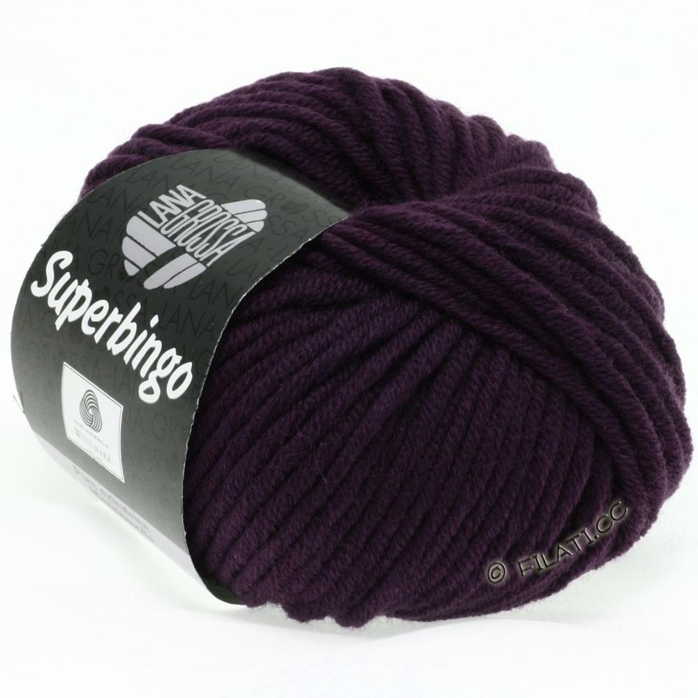 Lana Grossa SUPERBINGO uni/neon   044-aubergine