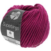 Lana Grossa SUPERBINGO uni/neon   045-purpur