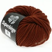 Lana Grossa SUPERBINGO uni/neon | 048-reddish brown