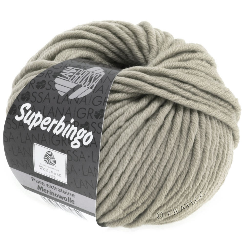 Lana Grossa SUPERBINGO | 053-pearl gray