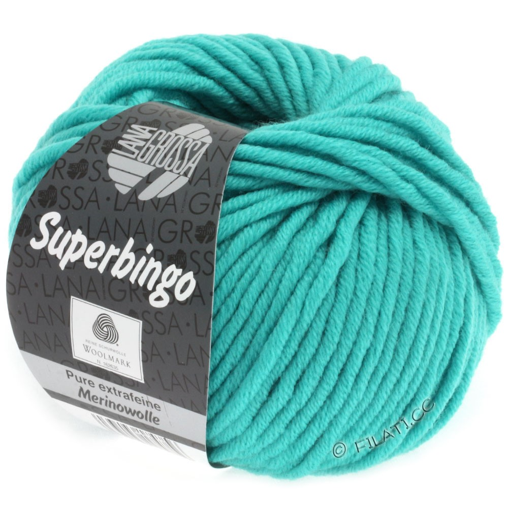 Lana Grossa SUPERBINGO uni | 056-light turquoise