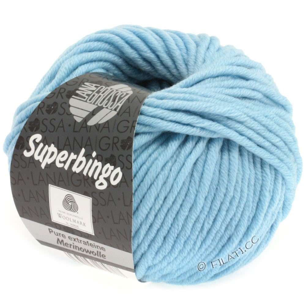 Lana Grossa SUPERBINGO uni | 059-light blue