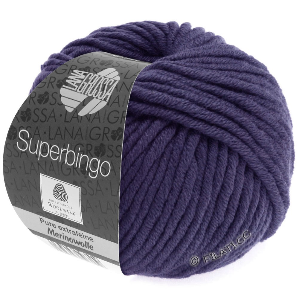 Lana Grossa SUPERBINGO Uni | 065-dark violet