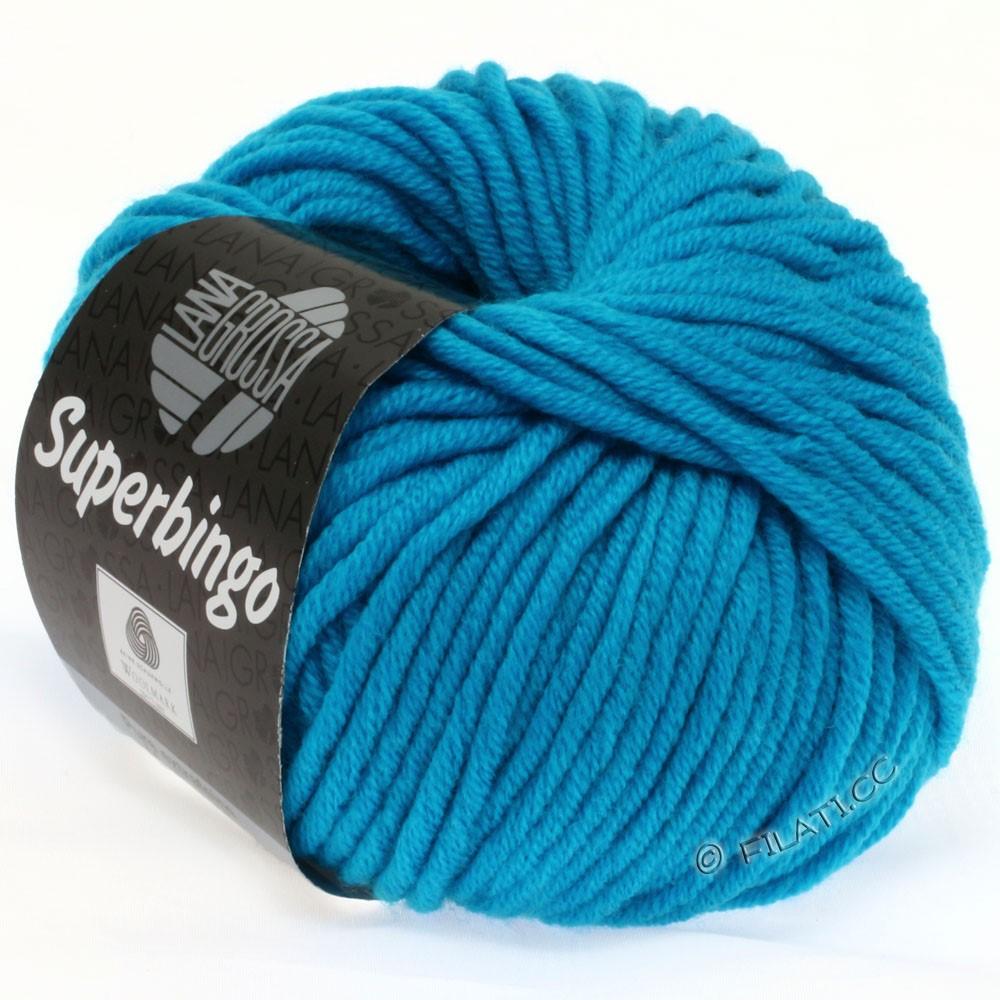 Lana Grossa SUPERBINGO uni/neon   303-neon turquoise