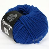 Lana Grossa SUPERBINGO uni/neon   304-neon blue