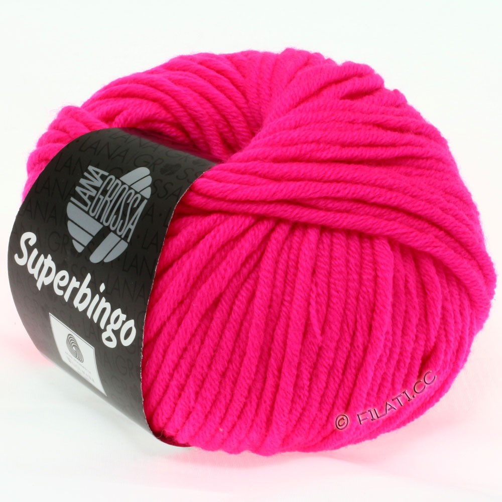 Lana Grossa SUPERBINGO uni/neon   306-neon pink
