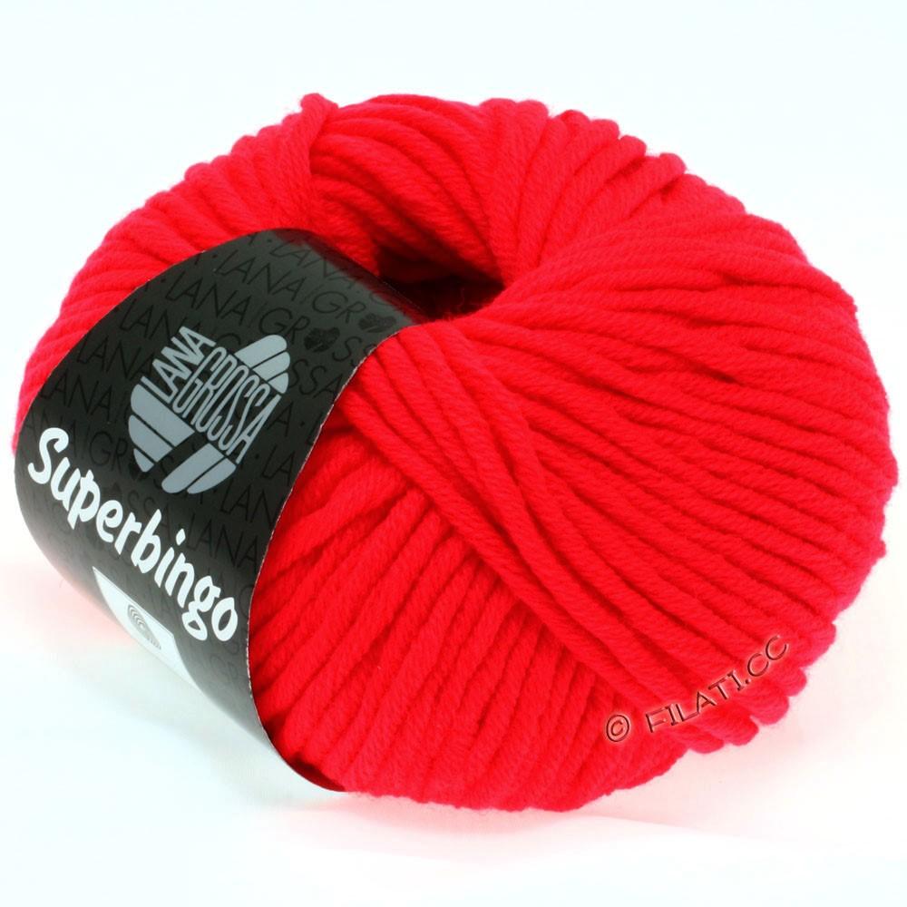 Lana Grossa SUPERBINGO uni/neon   307-neon red