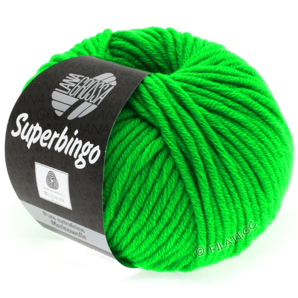 Lana Grossa SUPERBINGO uni/neon   309-bilious green