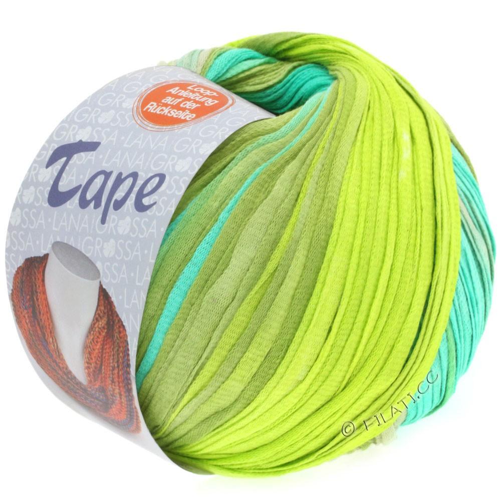 Lana Grossa TAPE (McWool) | 102-light green/linden