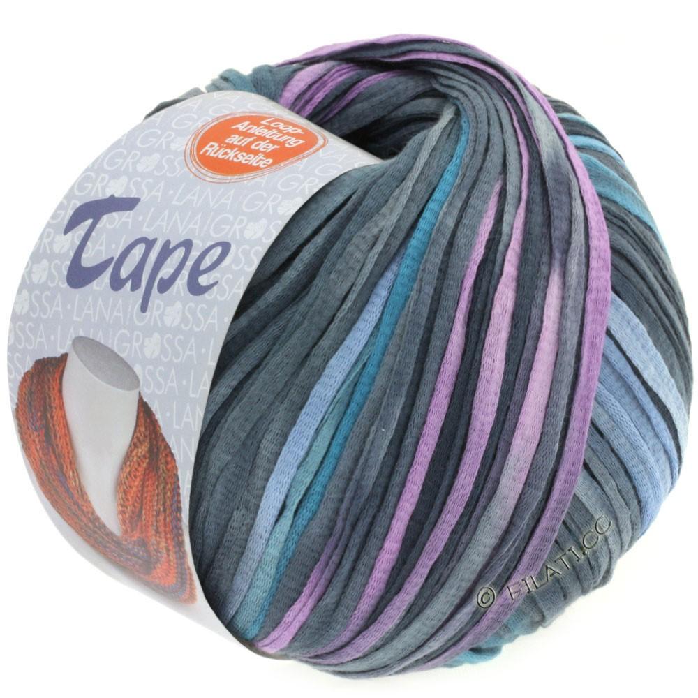 Lana Grossa TAPE (McWool) | 104-jeans/gray blue/navy